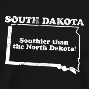SOUTH DAKOTA STATE SLOGAN T-Shirts - Men's Premium T-Shirt