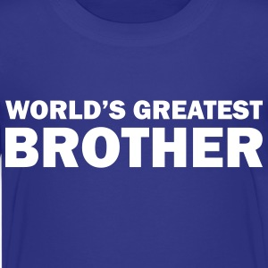 World's greatest brother - Kids' Premium T-Shirt