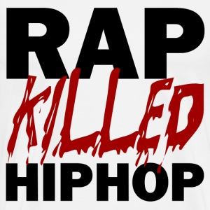 RAP KILLED HIP HOP T-Shirts - Men's Premium T-Shirt