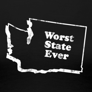 WASHINGTON - WORST STATE EVER Women's T-Shirts - Women's Premium T-Shirt