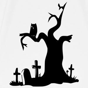Halloween Tree T-Shirt - Men's Premium T-Shirt
