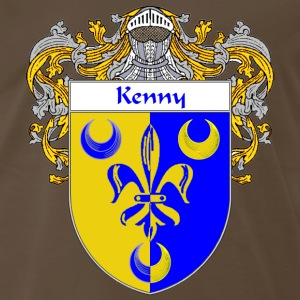 Kenny Coat of Arms/Family Crest - Men's Premium T-Shirt