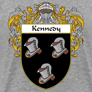 Kennedy Coat of Arms/Family Crest - Men's Premium T-Shirt