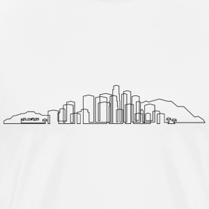 Los Angeles Skyline T-shirt - Men's Premium T-Shirt