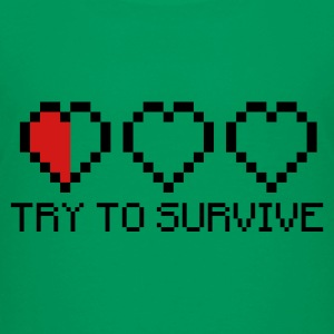 Try to survive 2c Kids' Shirts - Kids' Premium T-Shirt