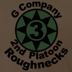 roughnecks_olive_drab_2 T-Shirts