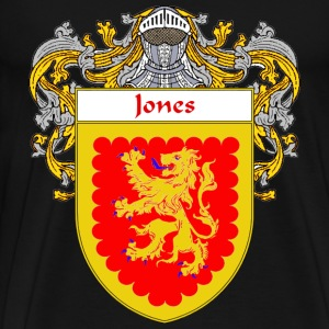 Jones Coat of Arms/Family Crest - Men's Premium T-Shirt