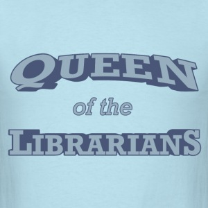 Queen of the Librarians - Men's T-Shirt