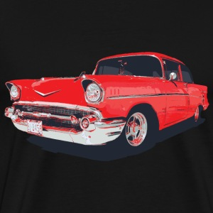 Chevy Bel Air vector illustration - Men's Premium T-Shirt