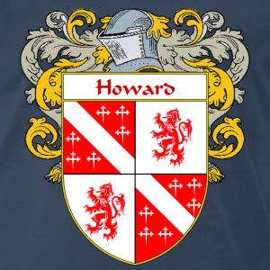 Howard Coat of Arms/Family Crest - Men's Premium T-Shirt