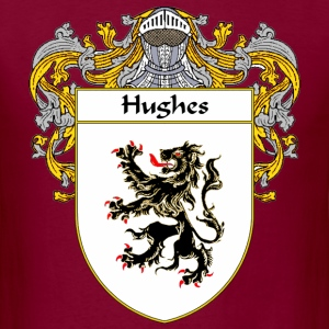 Hughes Coat of Arms/Family Crest - Men's T-Shirt