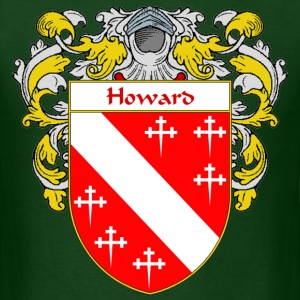 Howard Coat of Arms/Family Crest - Men's T-Shirt
