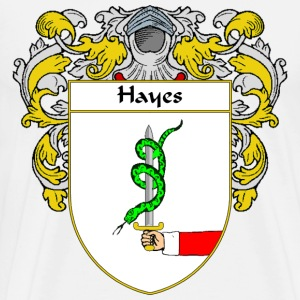 Hayes Coat of Arms/Family Crest - Men's Premium T-Shirt