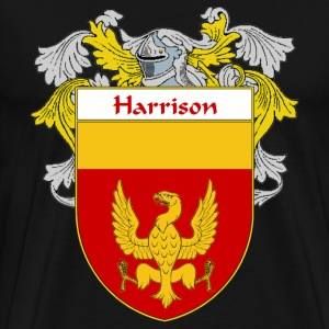 Harrison Coat of Arms/Family Crest - Men's Premium T-Shirt