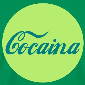 Cocaina Circle T-Shirts - Men's Premium T-Shirt