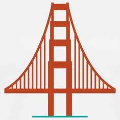 San Francisco Golden Gate Bridge Logo Shirt