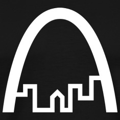 St Louis White Logo Shirt