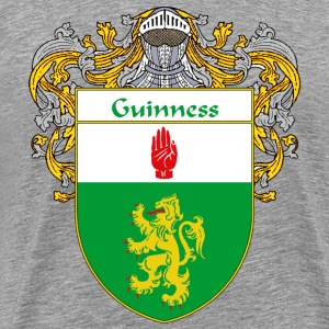 Guinness Coat of Arms/Family Crest - Men's Premium T-Shirt