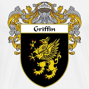 Griffin Coat of Arms/Family Crest - Men's Premium T-Shirt