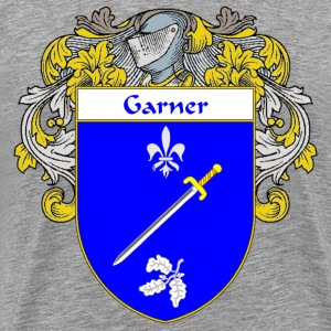 Garner Coat of Arms/Family Crest - Men's Premium T-Shirt