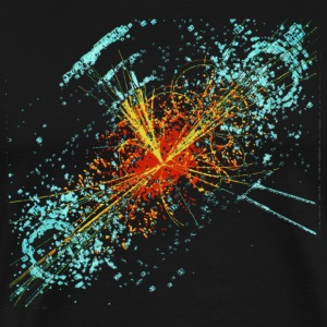 Higgs Event Oil Paint T-Shirts - Men's Premium T-Shirt