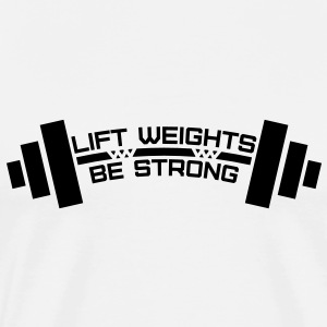 Weightlifting Men's T-Shirts - Men's Premium T-Shirt