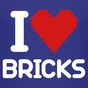 I love Bricks 2c Kids' Shirts - Kids' Premium T-Shirt