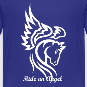 Horse Tribal Head Tattoo 1 Kids' Shirts - Kids' Premium T-Shirt