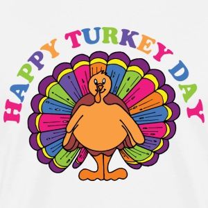 Happy Turkey Day T-Shirt - Men's Premium T-Shirt