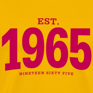 est. 1965 Nineteen Sixty Five - Men's Premium T-Shirt