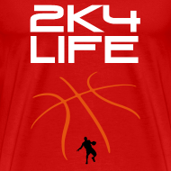 Design ~ Men's Heavyweight T-Shirt 2K4LIFE