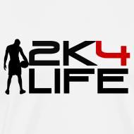 Design ~ Men's Heavyweight T-Shirt 2K4LIFE