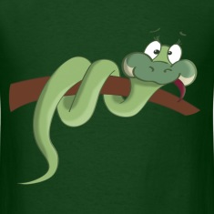 Snake Cartoon T-Shirt