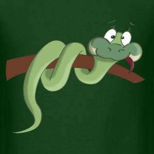 Snake Cartoon T-Shirt - Men's T-Shirt