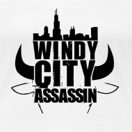 Design ~ T-shirt Woman Windy City
