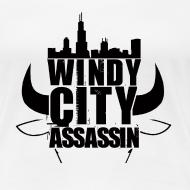 Design ~ T-shirt Woman Windy City