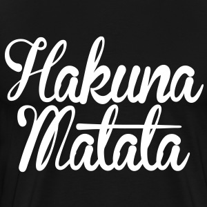 Hakuna Matata T-Shirts - stayflyclothing.com - Men's Premium T-Shirt