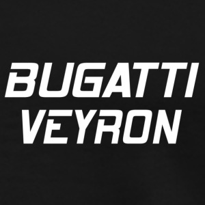 Bugatti Veyron Black-Red Car - Men's Premium T-Shirt