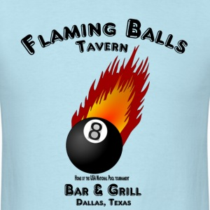 Flaming Balls Tavern, Bar & Grill,  Dallas Texas T-Shirts - Men's T-Shirt