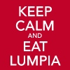 Keep Calm and Eat Lumpia - Men's Premium T-Shirt