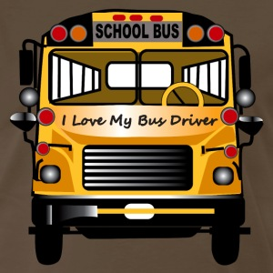 I Love My Bus Driver - Men's Premium T-Shirt