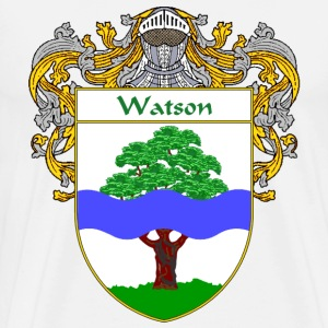 Watson Coat of Arms/Family Crest - Men's Premium T-Shirt
