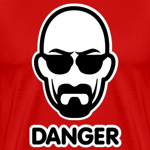 Heisenberg I am the danger T-Shirts - Men's Premium T-Shirt
