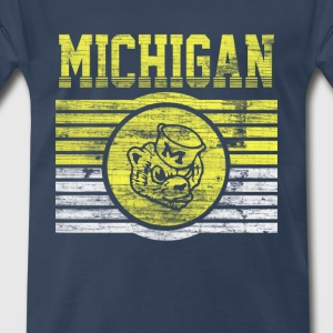 Michigan Wolverines - Men's Premium T-Shirt