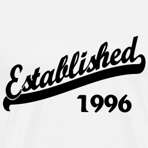 Established 1996 T-Shirts - Men's Premium T-Shirt