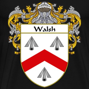 Walsh Coat of Arms/Family Crest - Men's Premium T-Shirt