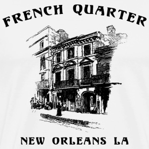 French Quarter New Orleans T-Shirt - Men's Premium T-Shirt