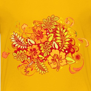 Hibiscus_Growth - Kids' Premium T-Shirt