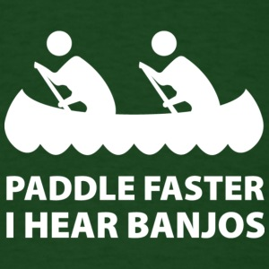 Paddle Faster - Men's T-Shirt