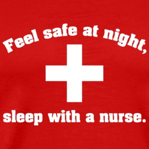 Feel safe at night - Men's Premium T-Shirt